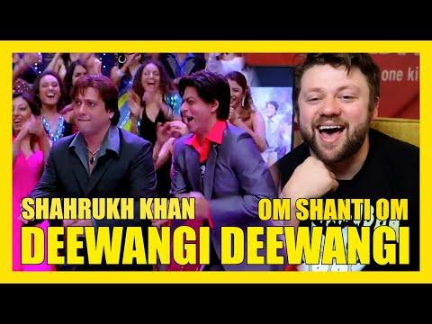 DEEWANGI DEEWANGI Song REACTION!!! SHAHRUKH KHAN Om Shanti Om