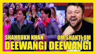 DEEWANGI DEEWANGI Song REACTION!!! SHAHRUKH KHAN Om Shanti Om Mp3