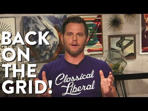 Dave Rubin is Back from 30 Days with No News, Internet, or Phone! (LIVE)