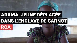Adama, jeune déplacée dans l'enclave de Carnot [Médecins Sans Frontières]