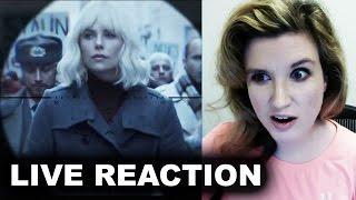 Atomic Blonde Trailer REACTION