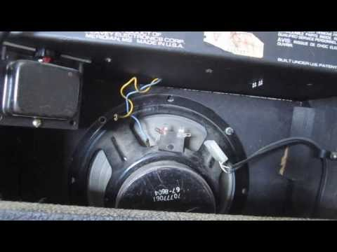 How to Clean Amplifier Pots / Scratchy Volume Knobs DIY Clean Noisy Potentiometers Peavey Guitar Amp