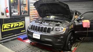 RIPP Supercharged 2014 Jeep Grand Cherokee 3.6 Pentastar