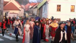 Svatý Martin projel se svou družinou Třeští