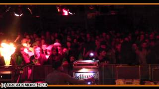 YOUNG WARRIOR (uk) @ reggae bus #3 - shaka shaka warrior \ dub stage pt7 \ 14-09-2013