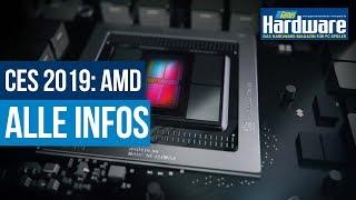 AMD Ryzen 3000 und Radeon VII (Vega 20) | Alle bekannten Infos | CES 2019