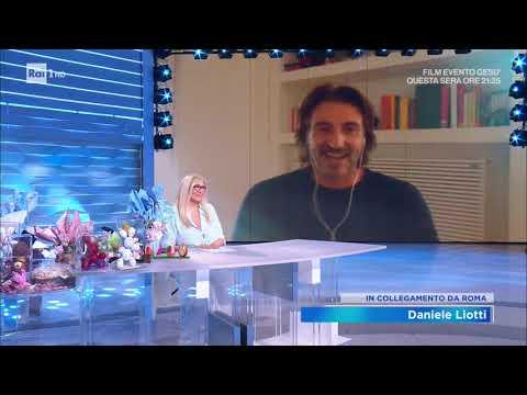 Daniele Liotti - Domenica in 12/04/2020