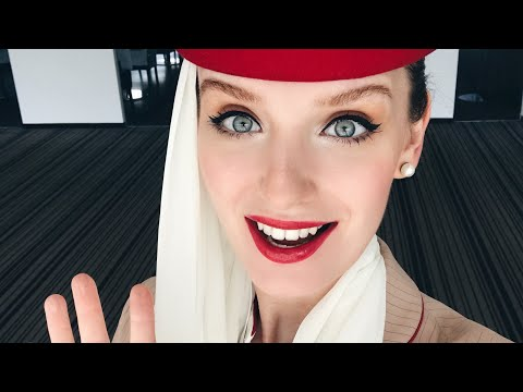 Emirates Cabin Crew VLOG: Just landed from a 16-hour NONSTOP Flight!!!! ✨19.11.16