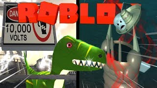I SCARE ME BROKEN!! | Roblox Jurassic Tycoon #3