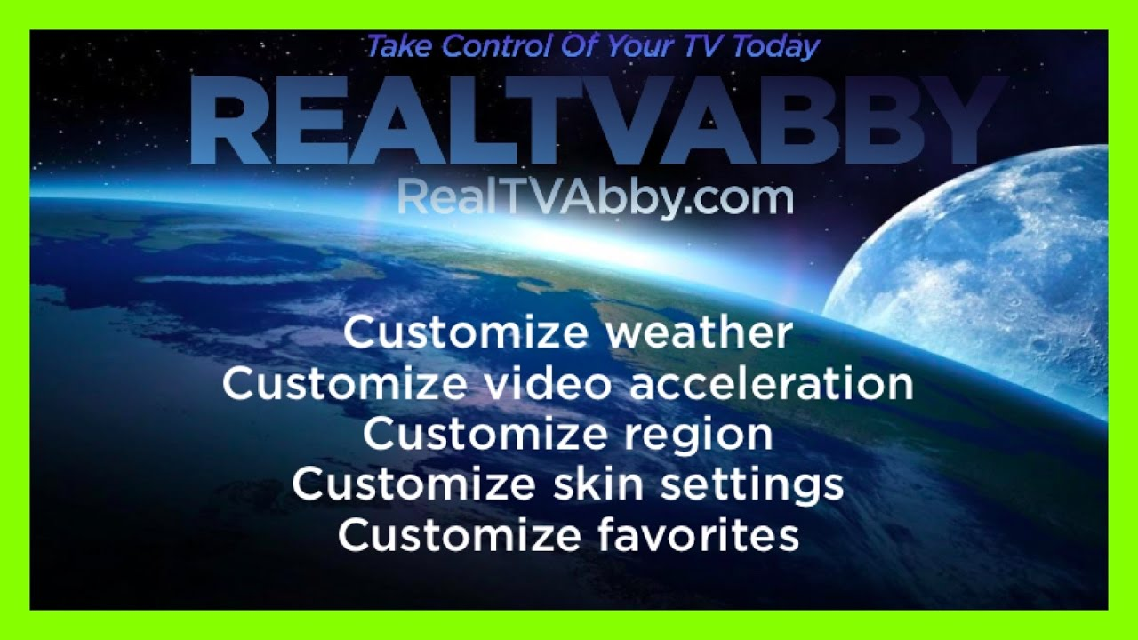 HOW TO CUSTOMIZE KODI WEATHER, VIDEO ACCELERATION, REGION, SKIN SETTINGS,  FAVORITES