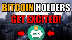 BIG NEWS: Bitcoin Just Got A HUGE BOOST! 401k Investment NOW POSSIBLE. Bullish Accumulation in 2020.