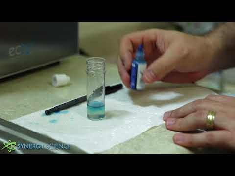 How To Test Hydrogen Water With H2 Blue Drops (Synergy Science)
