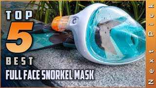 Top 5 Best Full Face Snorkel Masks Review in 2021