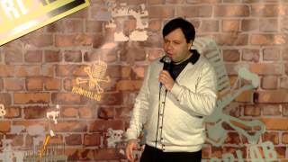 "Humorlab Stand Up - Артем КОБЗАН - ""Еврейские праздники"""