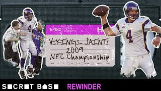 Brett Favre's final shot at glory deserves a deep rewind | Saints Vikings 2009 NFC Championship