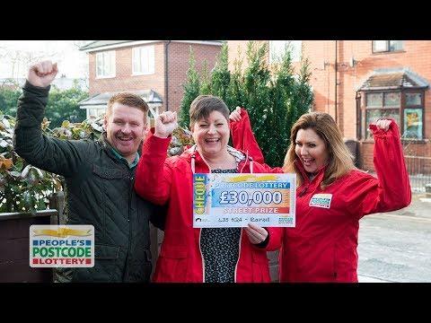 Street Prize Winners - L35 4QA In Rainhill On 16/12/2017 - People's Postcode Lottery