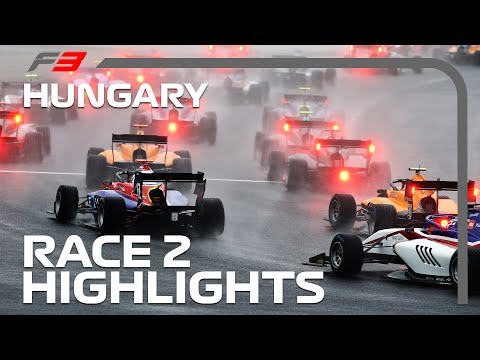 F3 Race 2 Highlights | 2020 Hungarian Grand Prix