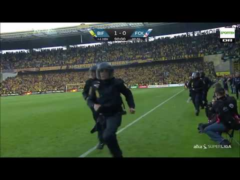 Brondby IF - FC Copenhagen vs. police 6. August 2017