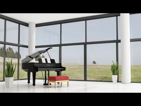 1 Hour Relax with Bach. Piano relaxing music for meditation and yoga with sounds of nature (TCO)