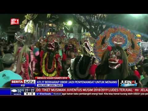 Obor Asian Games Tiba Di Kota Malang