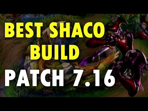 BEST SHACO BUILD PATCH 7.16 - HARD-CARRY EVERY GAME