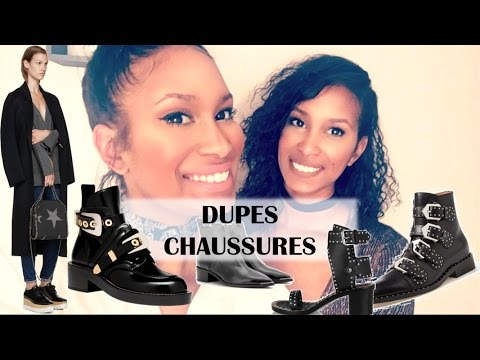 DUPES MODE CHAUSSURES Givenchy, Balenciaga...