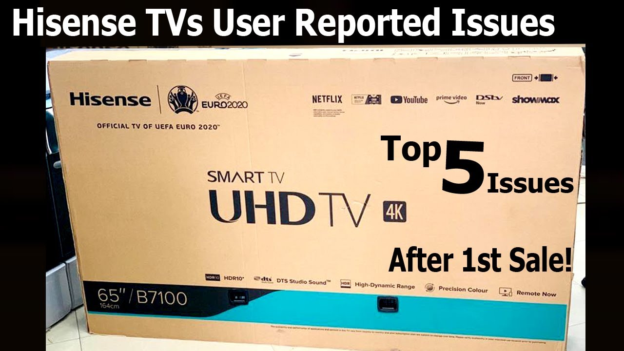 Hisense TV User Reported Issues after 1st Sale | Top 5 issues #HisenseTV #Hisense4K
