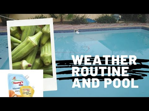 Weather Changes In AFRICA    Daily Routine    What Happened to Swimming Pool?