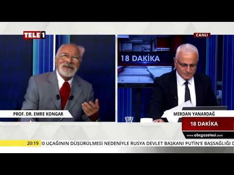 18 Dakika - Merdan Yanardağ & Emre Kongar (20 Eylül 2018) | Tele1 TV
