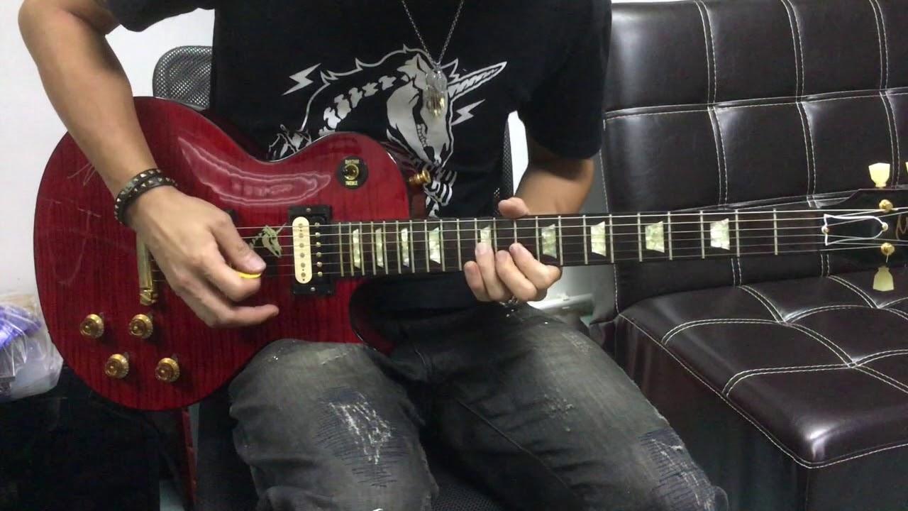 蕭秉治 放了自己 feat.五月天怪獸 Guitar Cover - YouTube