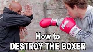 Wing Chun training - wing chun how to destroy the boxer Q36