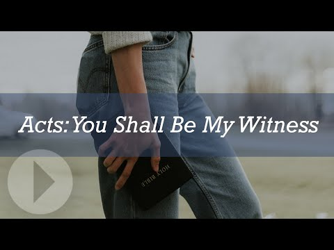 Acts: You Shall Be My Witnesses - John Lennox