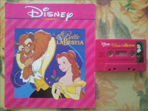 Musicassette Disney : La Bella e la Bestia (Beauty and the Beast)