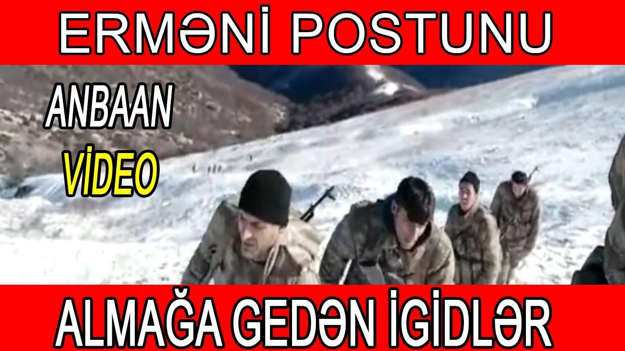 Erməni postunu almağa gedən Əsgərlərimiz - ANBAAN VİDEO