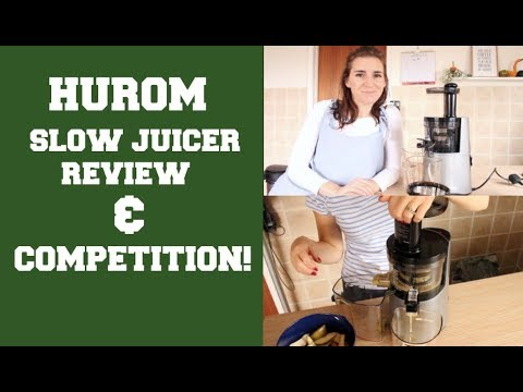 HUROM 3RD GEN SLOW JUICER REvIEW & COMPETITION! - YouTube