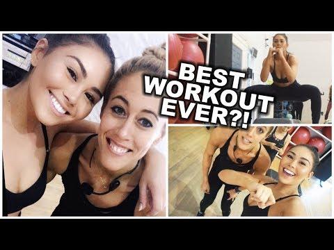 WORKOUT WITH KHLOE KARDASHIAN'S TRAINER?!  | VLOGMAS 2017 | Roxette Arisa Vlogs