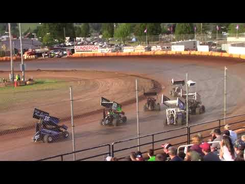 Sunset Speedway, OR - Micro 600R Heat Race - May 26, 2019
