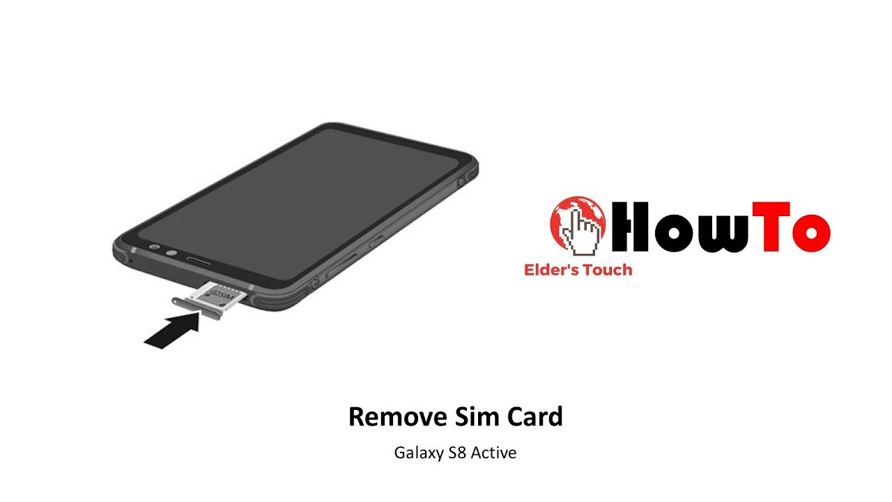 Welche Sd Karte Für S8.Howto Remove Sim Card And Sd Card From Galaxy S8 Active