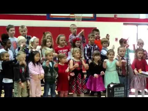 Meena Christmas Cheat Lake Elementary school 2015
