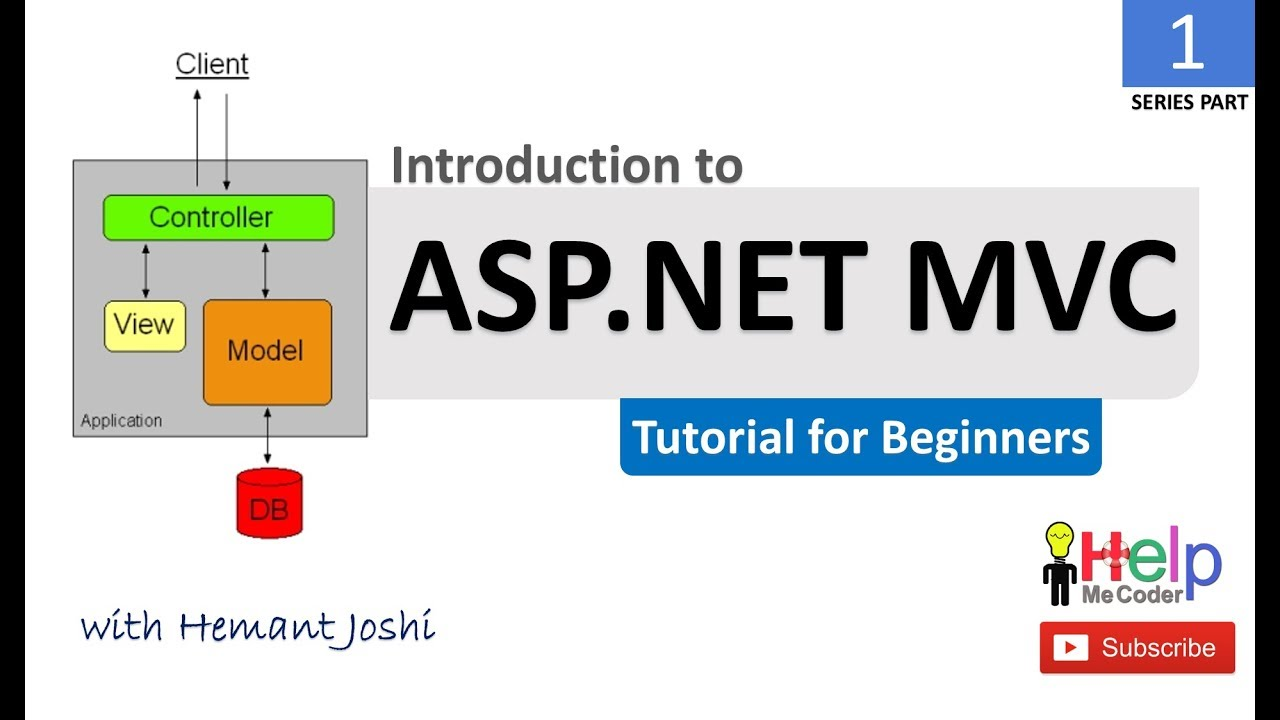 (Part 1) ASP NET MVC Tutorial for Beginners with Demo