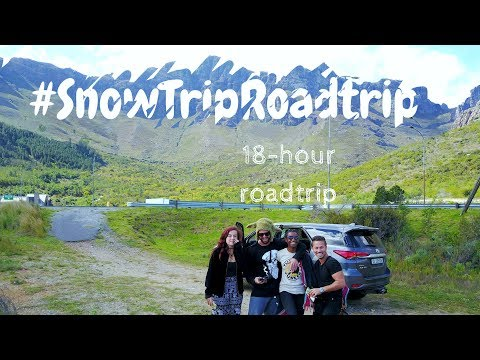 #SnowTripRoadTrip: 18 hours Cape Town to Lesotho | Frame Ambition Travel Vlog