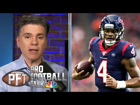 Texans QB Deshaun Watson setting an example at peaceful protest | Pro Football Talk | NBC Sports