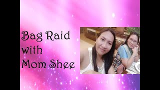 Funny Bag Raid with my mom