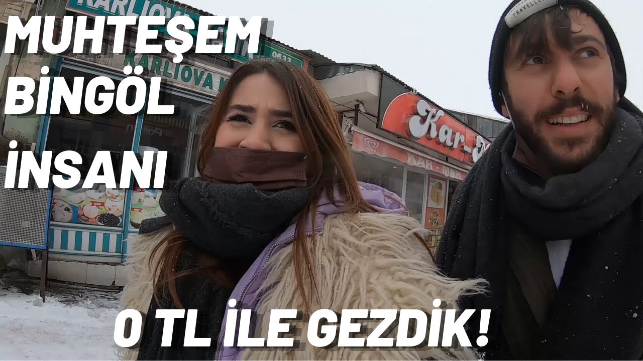 Bingöl ve Karlıova'da Bakın Parasız Neler Yaşadık!
