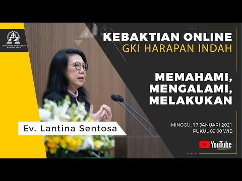 Kebaktian Online Minggu GKI Harapan Indah, Minggu, 17 Januari 2021