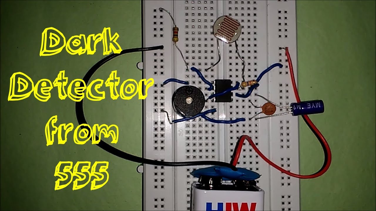 Dark Detector From 555 Timer Youtube Circuit The Relay Switch 4 7k 9v As Aug Ldr Circuits A To Light