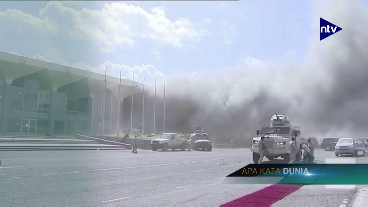 22 Orang Tewas Dalam Serangan di Bandara Aden