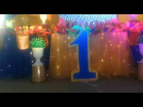 Fiesta De Cumpleaños Mickey Rey Eventos Urban Decoración