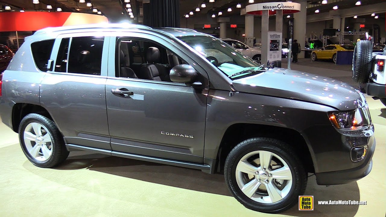 2015 jeep compass high altitude exterior and interior walkaround 2015 new york auto show. Black Bedroom Furniture Sets. Home Design Ideas