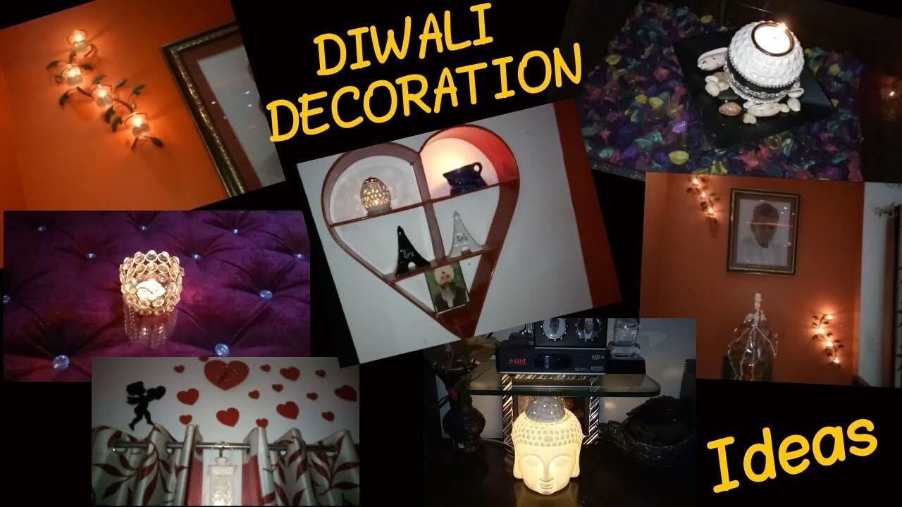 DIWALI HOME DECORATION IDEAS / INDIAN HOME DIWALI DECOR IDEAS